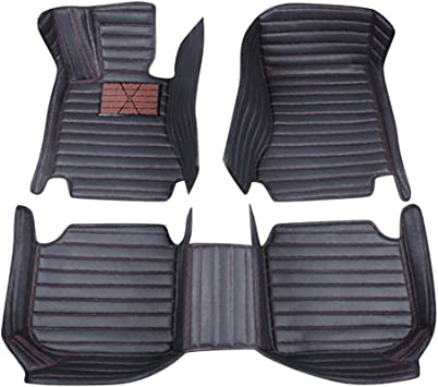 Nylon Carpet Black CFMBX1VO7210 Coverking Custom Fit Front and Rear Floor Mats for Select Volvo C70 Models