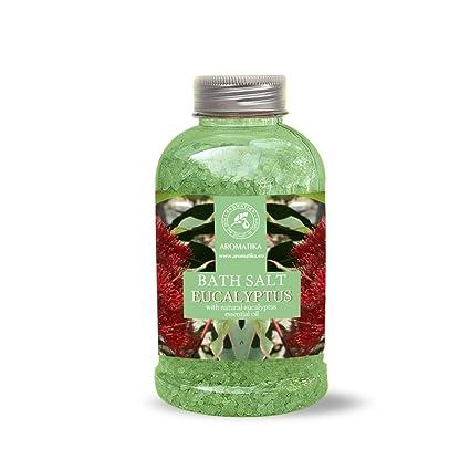 Sale da bagno all\'eucalipto sale marino con olio essenziale di ...