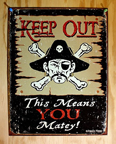 Keep-Out-Matey-Pirate-Metal-Sign