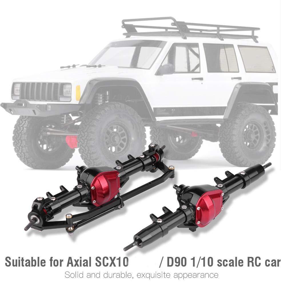 Woyisisi Eje de transmisi/ón de neum/áticos de Eje Trasero Delantero Axial SCX10 Jeep D90 1//10 Escala RC Car