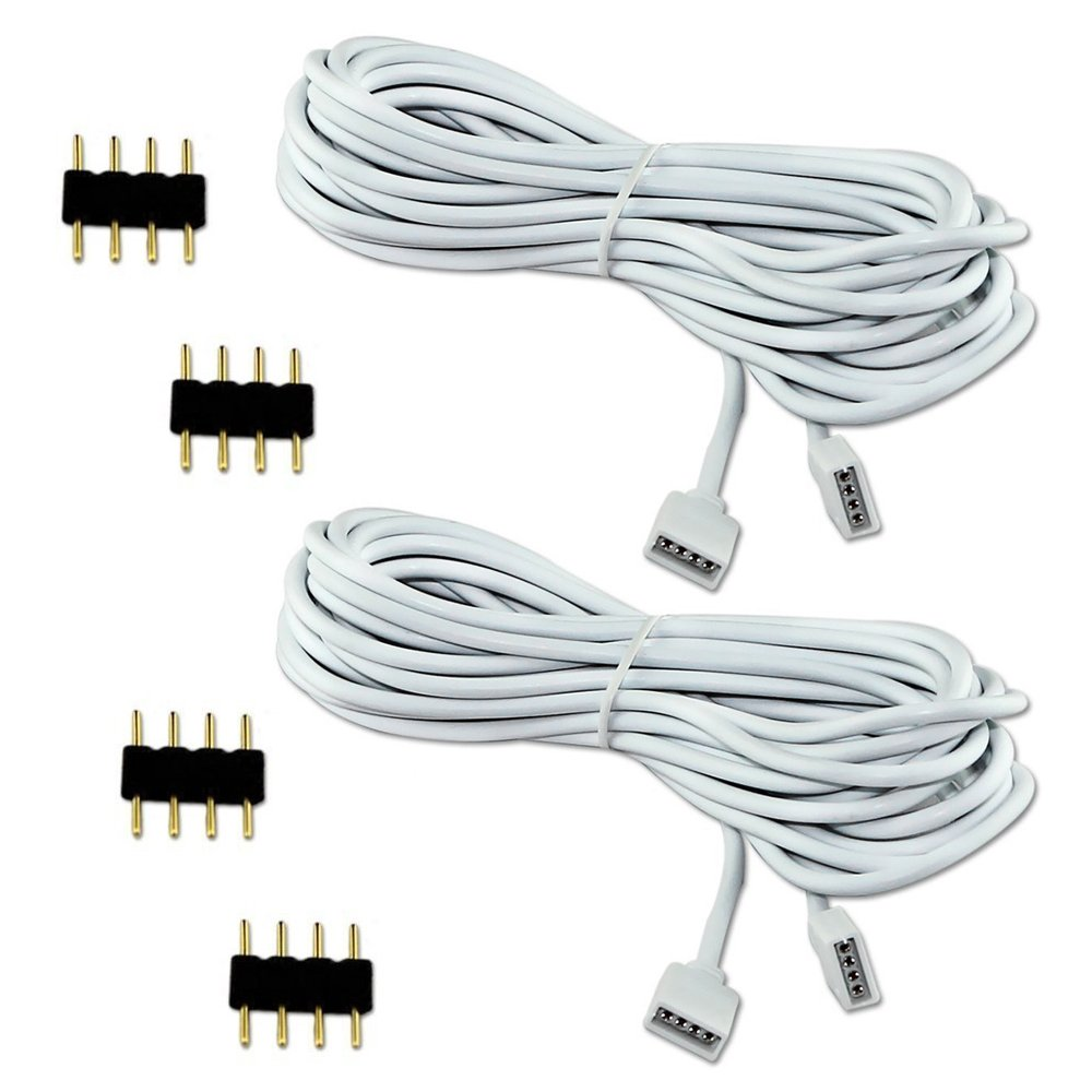 Promo Connector Led Strip 5050 Kabel Update 2018 Amedee Blouse Wanita Abf01818bk Hitam S Esco Lite 2pcs 25m Extension Cable Connect Female Plug To Lights