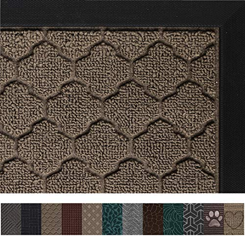 Gorilla Grip Original Durable All-Natural Rubber Door Mat,...