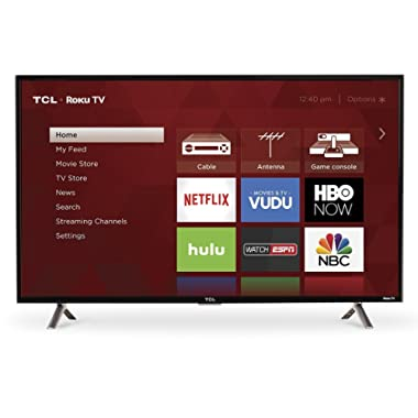 TCL 40S305 40-Inch 1080p Roku Smart LED TV (2017 Model)
