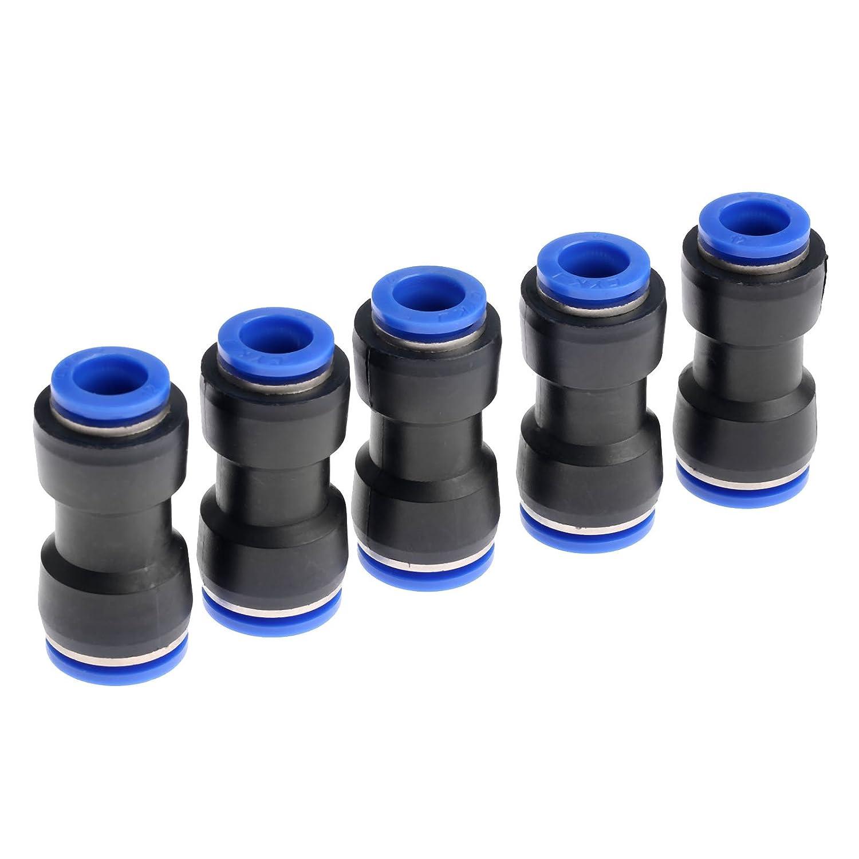 riduttori per pneumatici da inserire a pressione connettori per tubo dellaria e dellacqua 5 pezzi