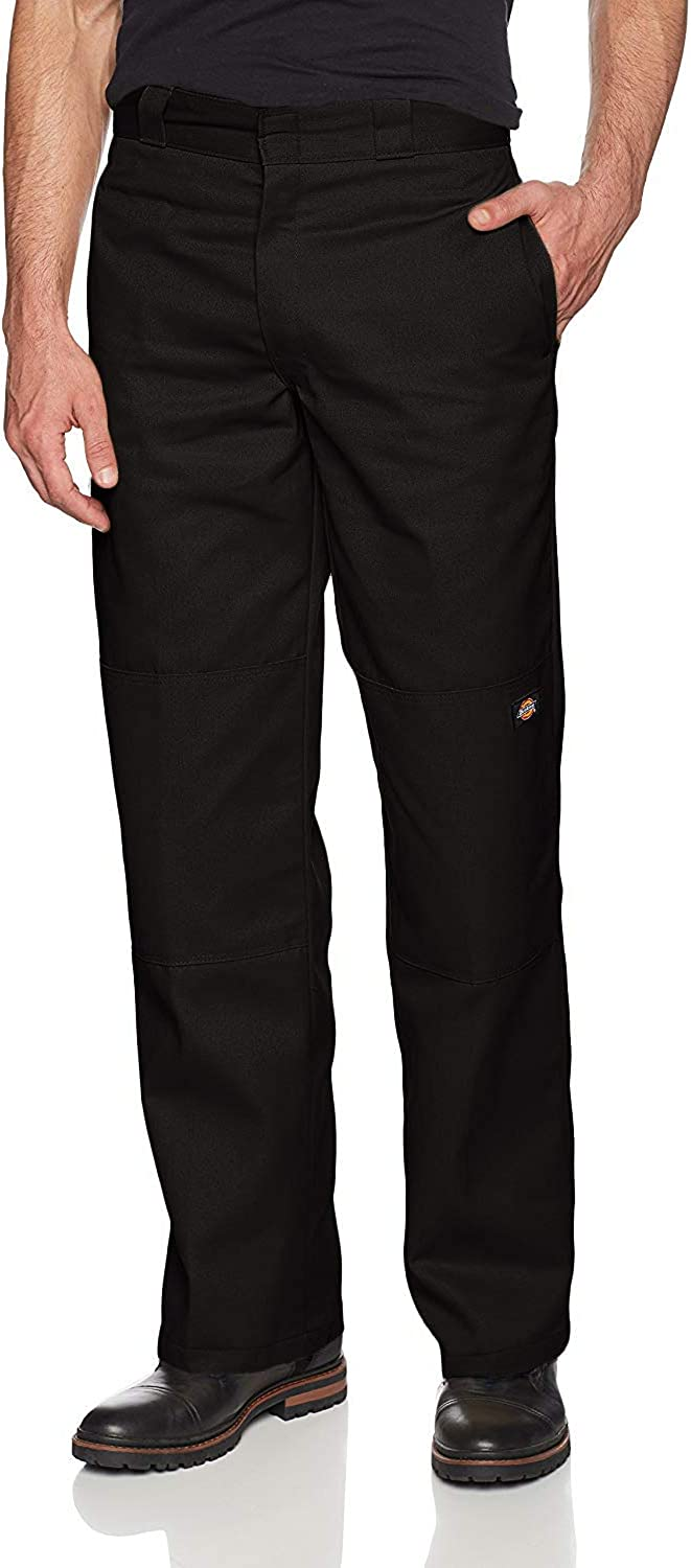 Dickies Men's Loose Fit Double Knee Work Pant: Clothing
