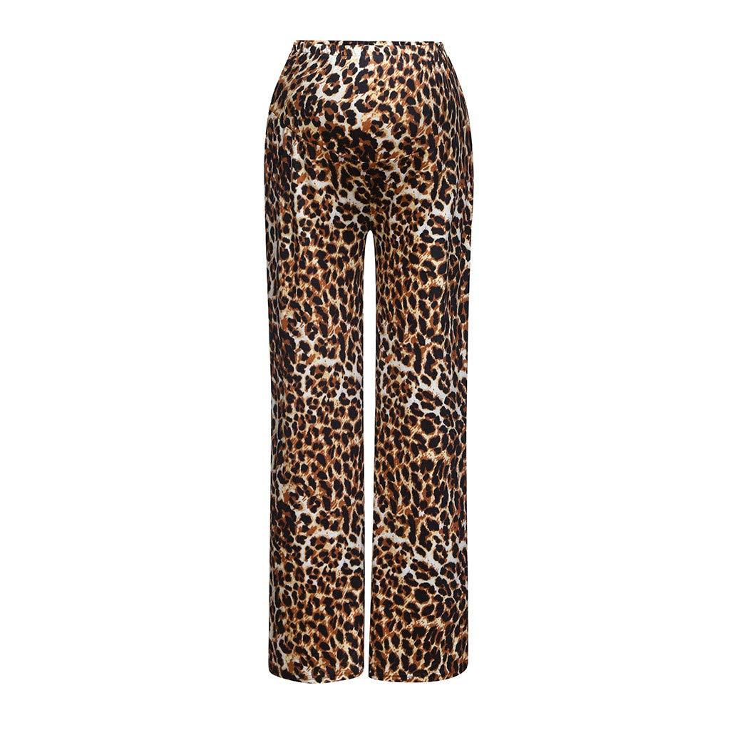 Rovinci Femme maternité Pantalon Modèle Femmes Enceintes Grossesse Pantalon Droit Mode