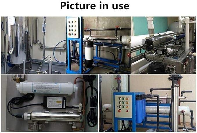 GRASSAIR 110W UV Purificador del esterilizador de Agua 5.4m3 / HR ...