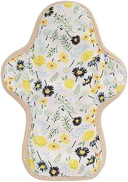 Almohadilla menstrual, cubierta de bragas reutilizable para compresas sanitarias en forma de abanico para almohada menstrual femenina lavable(blanco): Amazon.es: Belleza