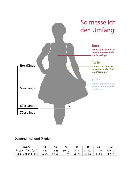 Ramona Lippert Dirndl Paola t/ürkis Dirndlkleid für Damen Exklusives Trachtenkleid