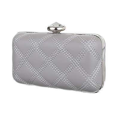 Ital-Design Clutch-tasche Bei Ital-design, Pochette femme - gris ... 94bdb41552b
