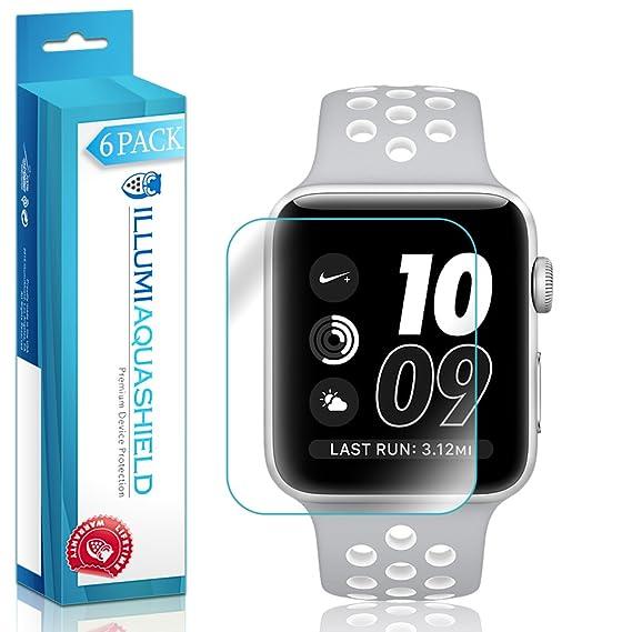 Apple Watch Nike + Protector de pantalla [paquete de 6],, Aquashield –