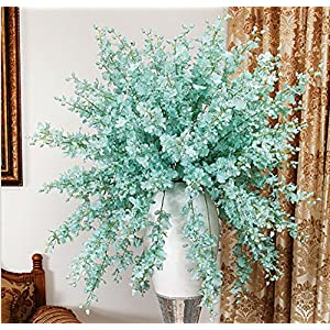 O&N 12 Pcs Artificial Orchid Silk Flower Arrangement Fake Flowers Home Wedding Party Decor 40