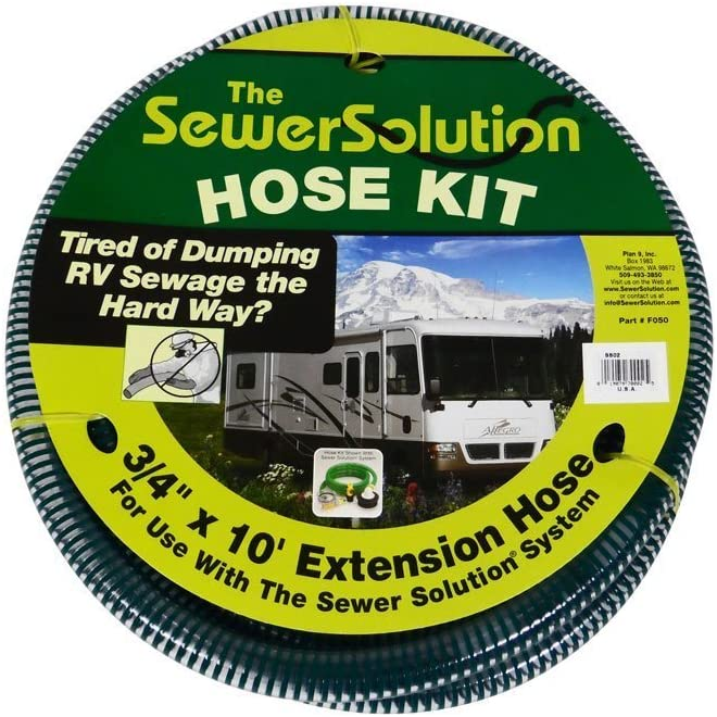 SewerSolution SS02 Extension Hose 10/'