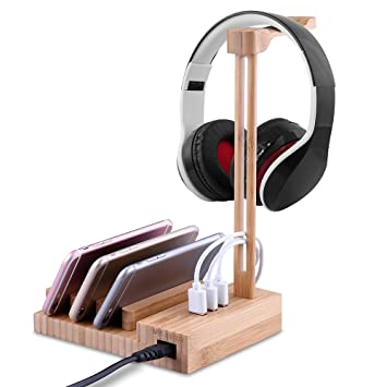 Soporte profesional para auriculares de juegos Sades de Docooler para Sony, AKG, Senn,