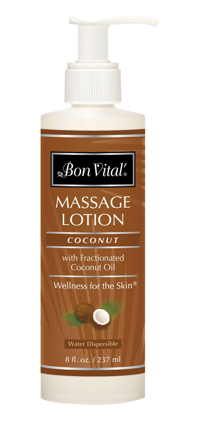 Bon Vital BVCOL8Z Coconut Lotion, 8-Ounce by Bon Vital