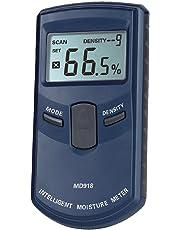 Pixtic - Humidimètre/Détecteur d'humidité du bois induction électromagnétique 4-80%(±1%)