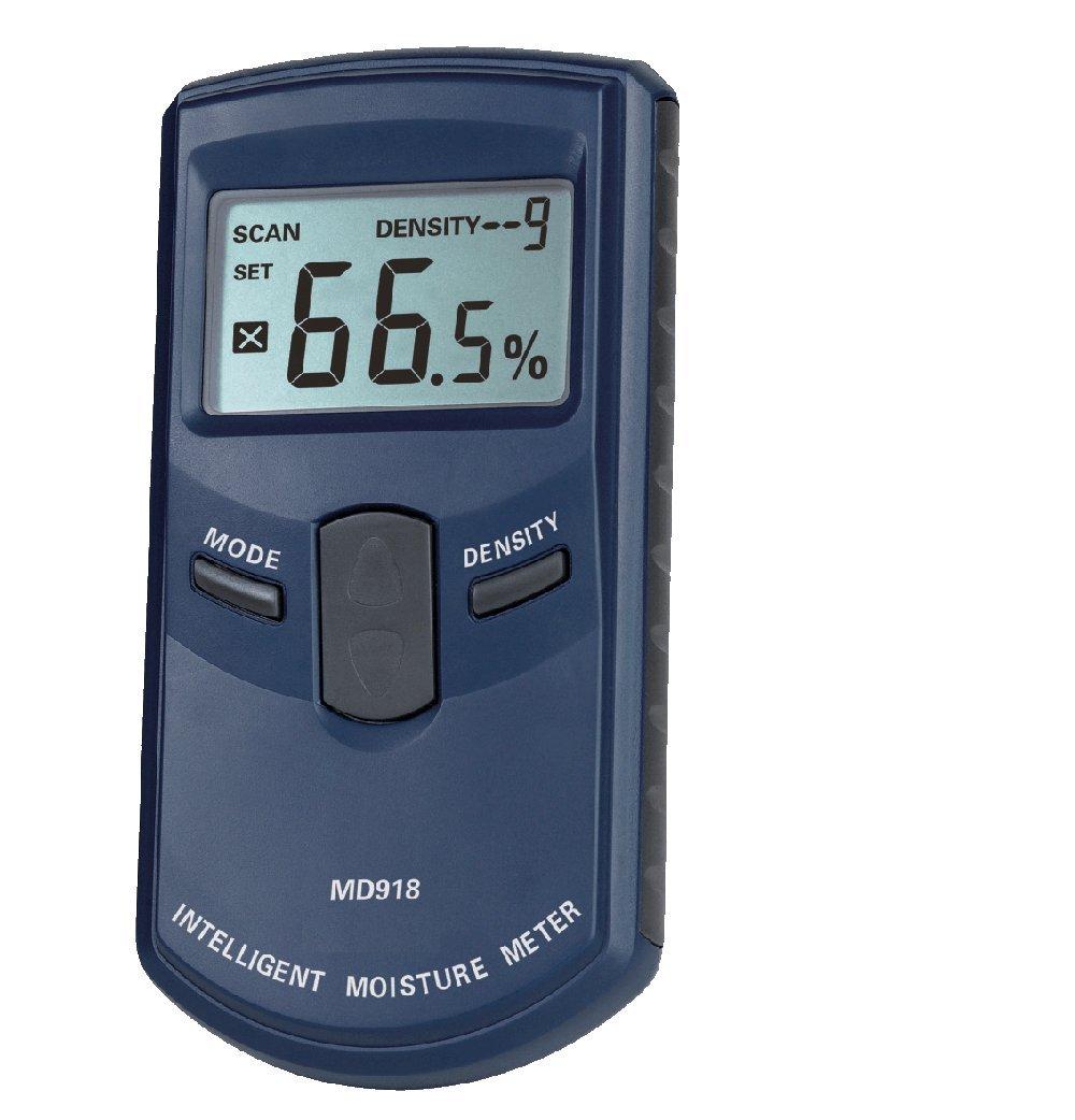 Pixtic MD918 Higr/ómetro para madera inducci/ón electromagn/ética 4-80/% /±1/%