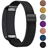 StrapsCo Stainless Steel Milanese Mesh Watch Band Strap for Samsung Gear Fit 2