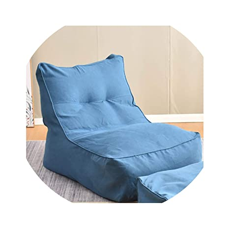 Wondrous Amazon Com Acomy No Filling Large Bean Bag Sofa Cover Ibusinesslaw Wood Chair Design Ideas Ibusinesslaworg