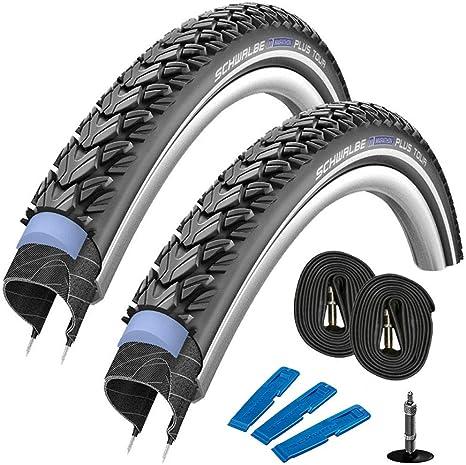 Schwalbe Marathon Plus Tour - Juego de 2 neumáticos para bicicleta ...