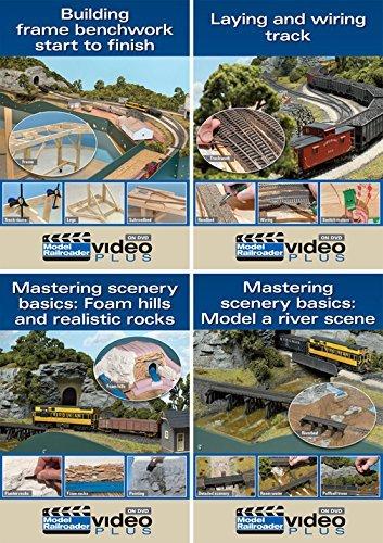 - Model Railroader Basics - 4 DVD Set by Model Railroader Magazine Staff