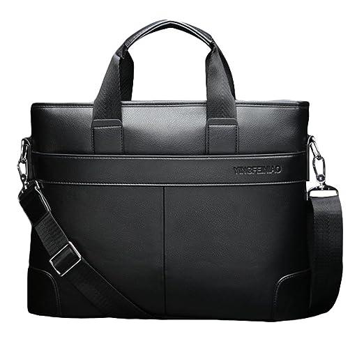 2 opinioni per Cuoio della spalla dell'unità di elaborazione degli uomini di lavoro Bag