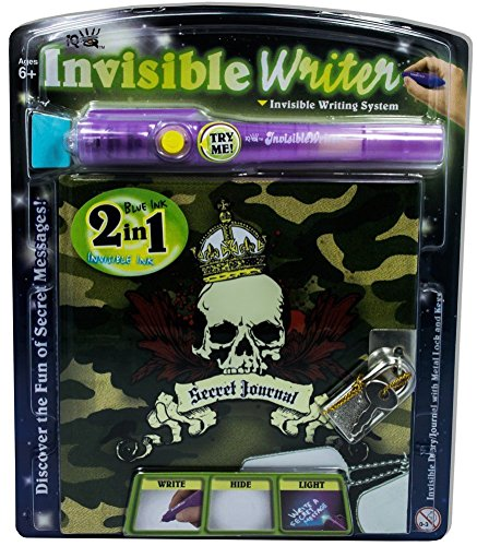 Toysmith TSM2229 Invisible Journal Set