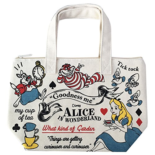 Alice In Wonderland Makeup (Walt Disney Alice in Wonderland Cold Insulation Lunch Tote Bag APDS2719)