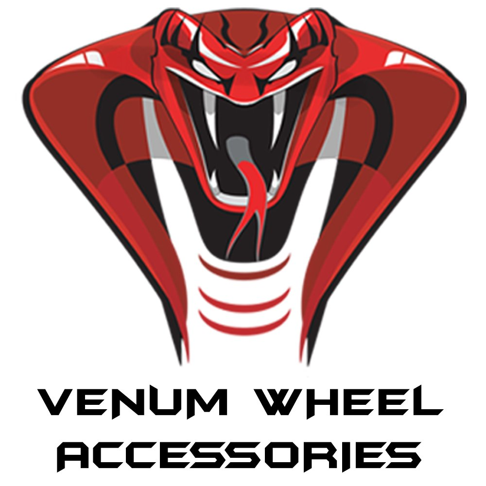 Venum wheel accessories 24pc Chevy Silverado Black OEM Factory Style Black Lug Nuts M14x1.5 W/ 22MM Hex Close End 1.5'' Tall 6x5.5 Chevy Stock Lugs Made in USA
