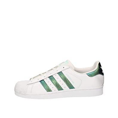 Adidas Superstar J, Chaussures de Fitness Mixte Enfant, Blanc, 36 EU