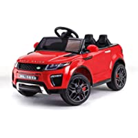 Rovo Kids 12V Electric Battery Powered Ride-on Toy SUV Car with Remote Control, Red