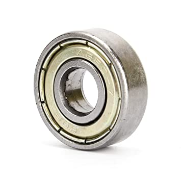 608ZZ 8x22x7mm Rodamiento Rígido de Bolas, Rodamiento de Bolas ...