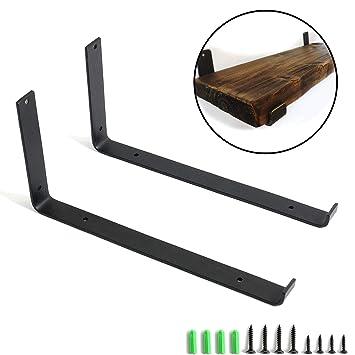 Stil 1, 20cm 2 St/ück Regaltr/äger L-Form Regalkonsole Wandregal aus Eisen Schwerlasttr/äger Tablartr/äger Regalhalter Deko Regal Unterst/ützung 3 Gr/ö/ßen