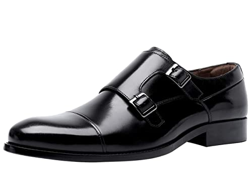 Chaussures Mariage Business Habillées En Boucle Mode Cuir À Santimon De Homme Derby Marron Chaussure Noir Ville vNnw80m