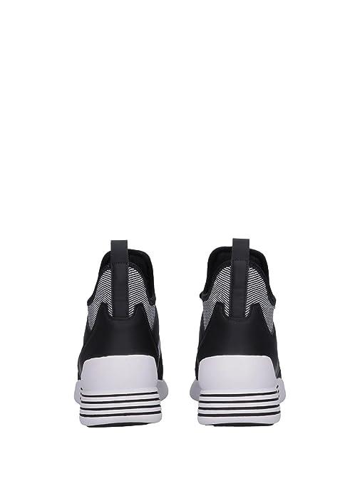 Kendall and Kylie Sneaker Braydin Negra y Blanca  Amazon.es  Zapatos y  complementos 245e9eb1a5e