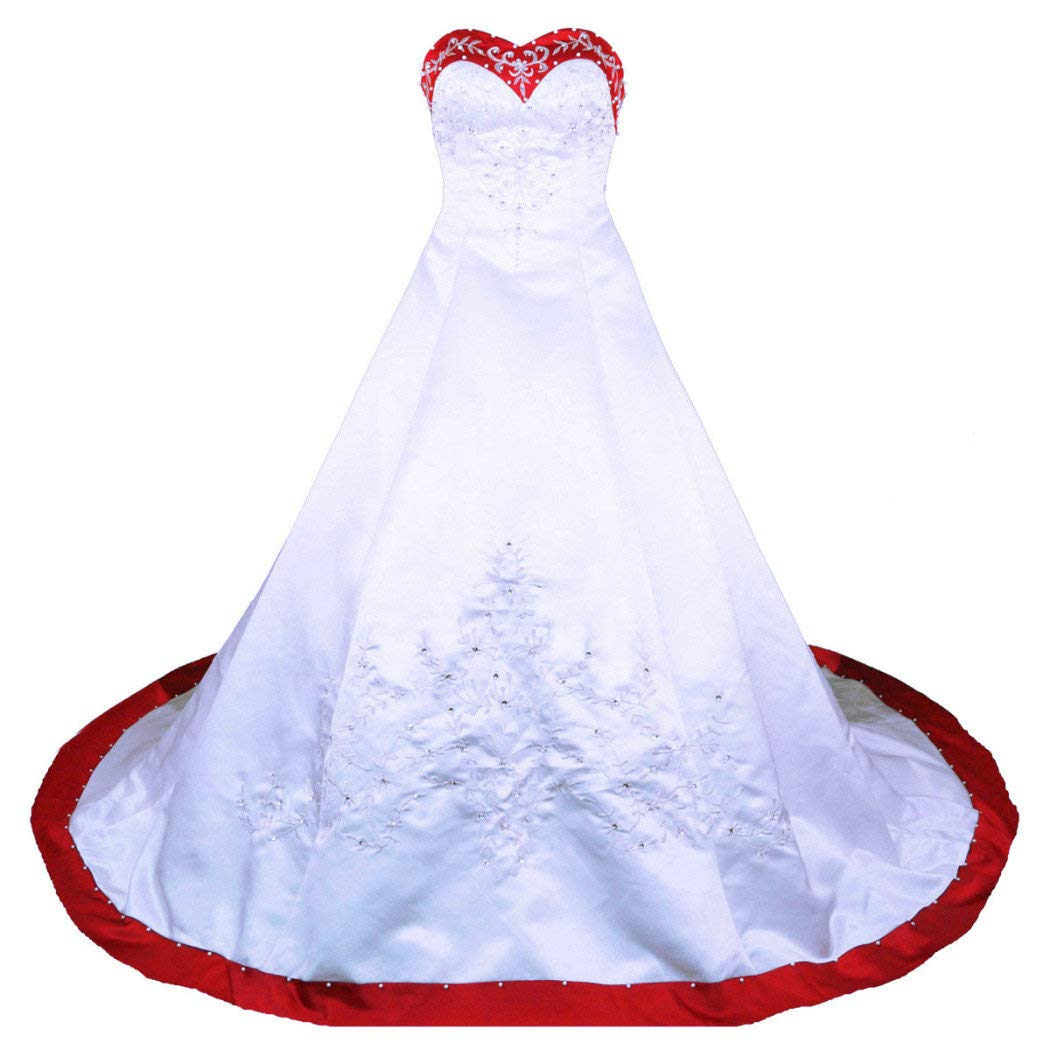 RohmBridal Sweetheart A-line Wedding Dress Bridal Gown WCG03