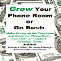 Grow Your Phone Room or Go Bust: Make Money on the Telephone and Avoid the Phone Room from Hell: An Insider's Essential Guide Audiobook by N. O'Neill Narrated by Al Remington