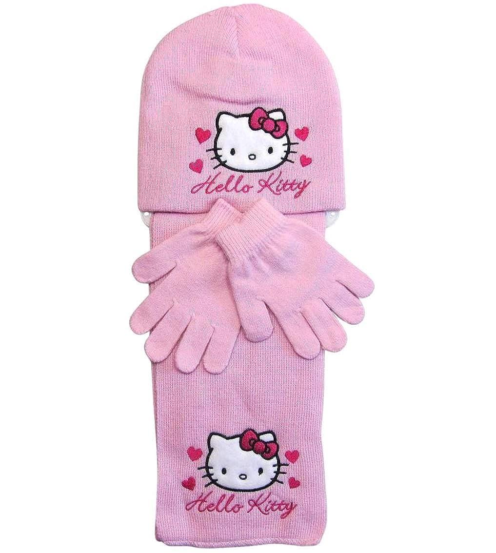 Hello Kitty Ragazza Coordinato Invernali