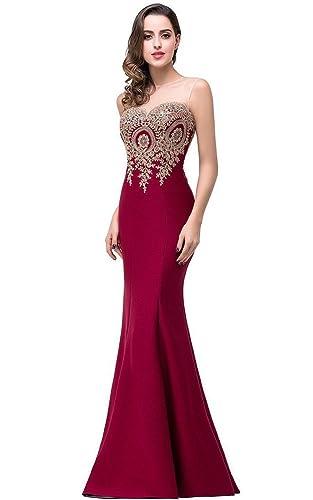 Babyonlinedress® Mermaid Evening Dress for Women Formal Long Prom Dress