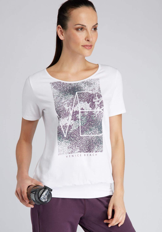 Venice Beach Rita 04 Shirt Weiss  Amazon.de  Sport   Freizeit c7aac39d11