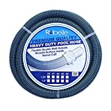 Robelle  740 Swimming Pool Vacuum Hose, 35-Feet-Feet by 1-1/2-Inch