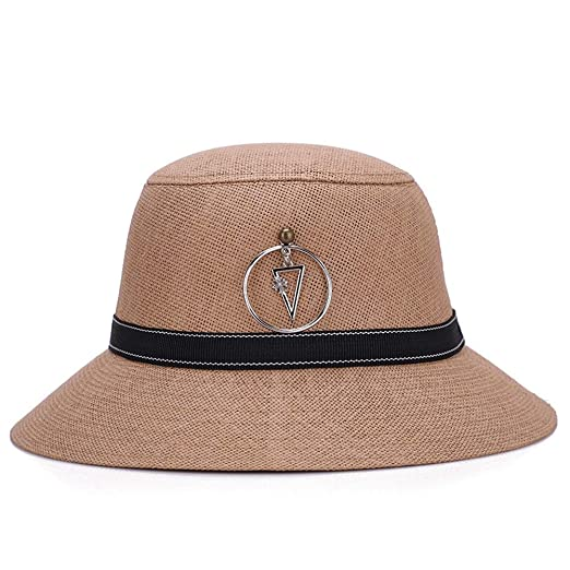 b21c7adc953b3c ChenXi Store Sun Bucket Hat Women Summer Floppy Cotton Sun Hats Packable Beach  Caps SPF 50+ UV Protective at Amazon Women's Clothing store: