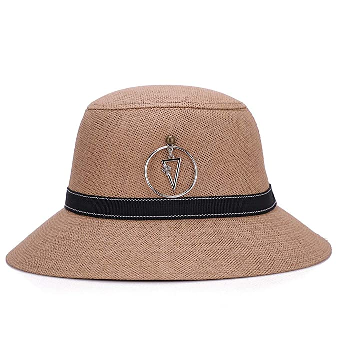 2f04074e9d9 Image Unavailable. Image not available for. Color  ChenXi Store Sun Bucket  Hat Women Summer Floppy Cotton Sun Hats Packable Beach Caps SPF 50