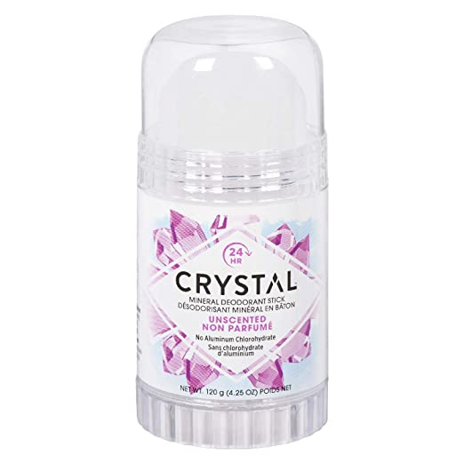 Crystal natural deodorant
