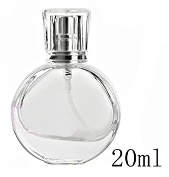 fb14e1b6846c Amazon.com: 1PCS 20ml Clear Glass Empty Refillable Perfume Spray ...