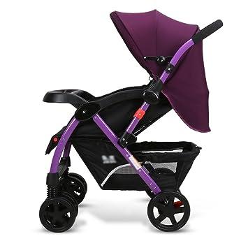 Carro de bebé Niño El carro plegable del bebé del paisaje del bebé plegable puede sentarse