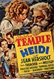 Heidi Poster Movie B 11x17 Shirley Temple Jean Hersholt Helen Westley Arthur Treacher