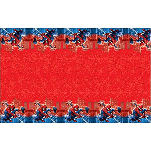 Spider Man Party Table Cover (Spiderman Plastic Table Cover , 84