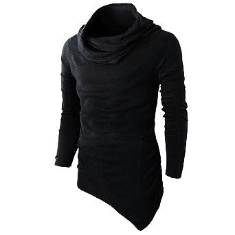 27e443ae76f Men T-shirt,Men's Slim Fit Tuetleneck Long Sleeve Muscle Tee T-shirt