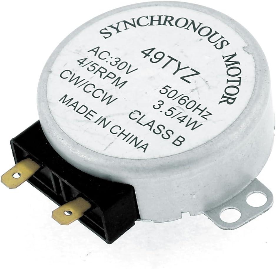AC 30V 3.5/4W 4/5RPM Micro Sincrónico Motor para Horno De ...
